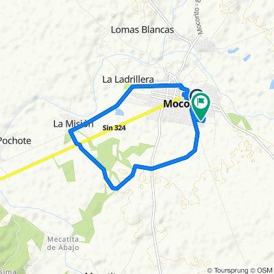 De Avenida Emilio Carranza 480405, Mocorito a Calle Enrique González 91, Mocorito