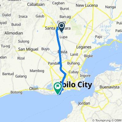 Route to Molo-Arevalo Bouleva Road, Iloilo City
