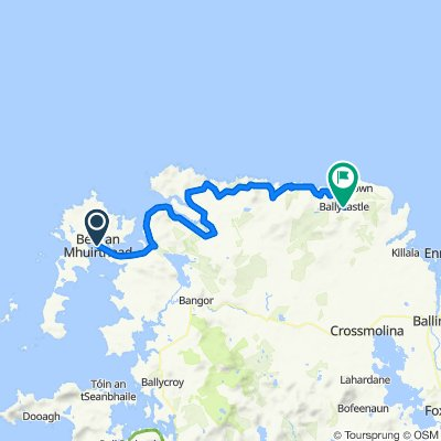 031 Belmullet to Ballycastle