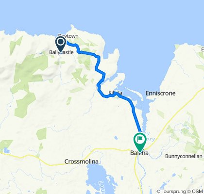 032 Ballycastle to Ballina