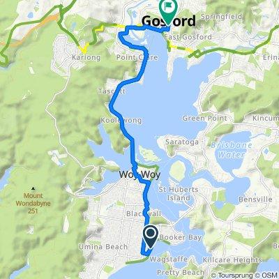Ettalong to Gosford