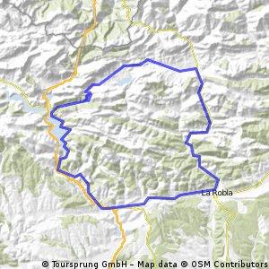 La Magdalena - Barrios de Luna - Aralla - Casares - Villamanin - La Pola - La Robla - La Magdalena