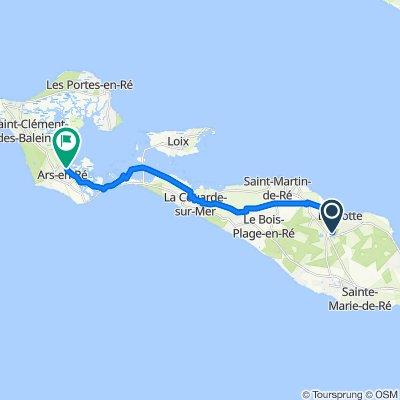 De 103 Route de la Noue, La Flotte à 19 Quai de la Criée, Ars-en-Ré