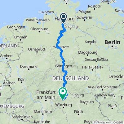 GPSwerk-Tour/Track: Tour 1