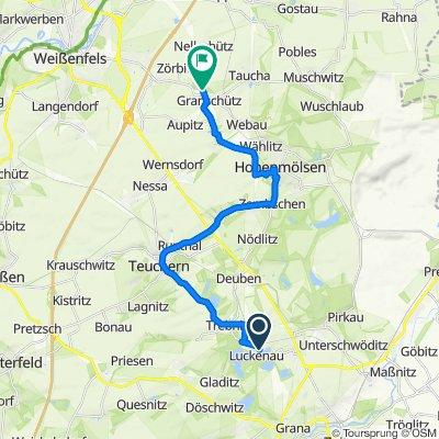 L197 2, Luckenau nach Am Auensee 5, Hohenmölsen