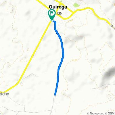 De Calle Aquiles Serdán 7, Quiroga a Calle Aquiles Serdán 7, Quiroga
