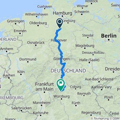 Route bearb. Bad Gandersheim