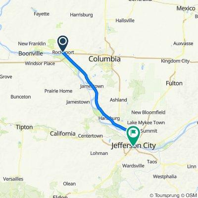 Katy Trail Day 3- 39Mi Rocheport to Jefferson