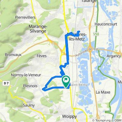 De 30 Rue de Sainte-Anne, Norroy-le-Veneur à 27 Rue de Sainte-Anne, Norroy-le-Veneur