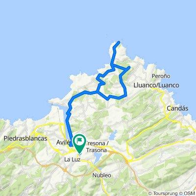 La Espina - Cabo Peñas - La Espina
