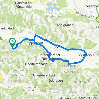 Breitenfeld 131, Riegersburg nach Breitenfeld 141, Riegersburg