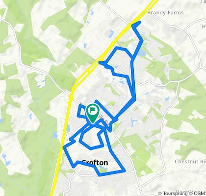 1566 Crofton Pkwy, Crofton to 1566 Crofton Pkwy, Crofton