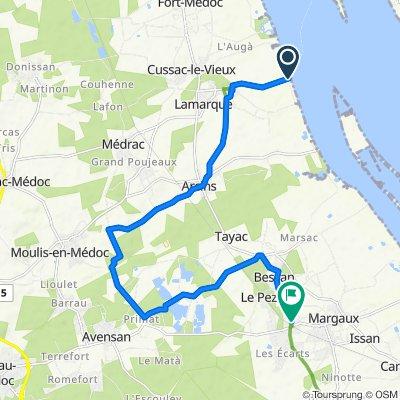 De 16 Route du Port, Lamarque à 5 Route du Matha, Margaux