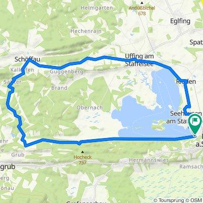 0OB03 :  Rund um den Staffelsee