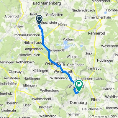 Vor dem Dickenhahn 45, Dreisbach nach Unnamed Road, Dornburg