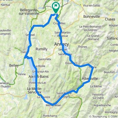 De 20 Chemin de Clairjoie, Présilly à 40 Chemin de la Cure, Présilly
