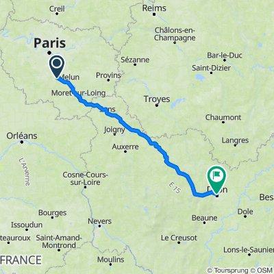 Du Coudray Montceau à Dijon