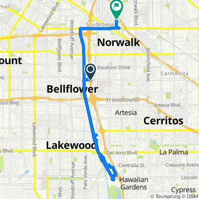 Alondra Boulevard 10831, Norwalk to Gem Street 11615, Norwalk