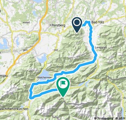 Bad Tölz - Walchensee - Vorderriß