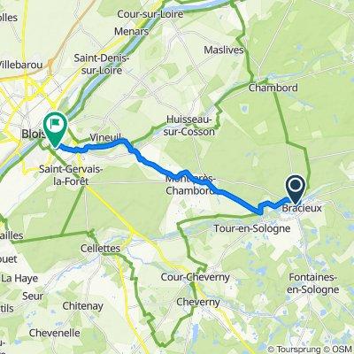 22 Les Jardins du Moulin, Bracieux to 22–32 Les Ponts Chartrains, Blois