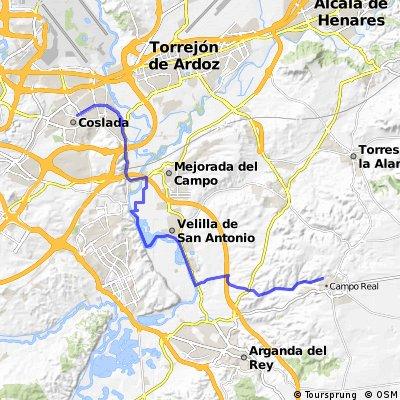 Coslada - Velilla de San Antonio - Campo Real