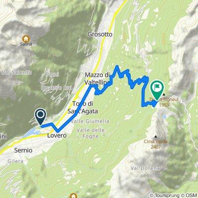 Da Italia, Lovero a Localita' Passo Mortirolo 2, Monno