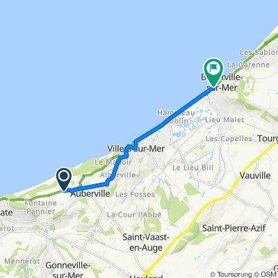 De D163 855, Gonneville-sur-Mer à Avenue Michel d'Ornano 2, Blonville-sur-Mer