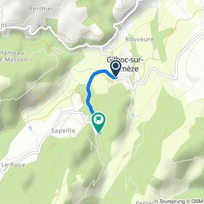 73–101 Rue du Marché, Gilhoc-sur-Ormèze nach Route de Saint-Barth-Grozon, Gilhoc-sur-Ormèze