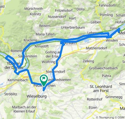 Wiener Straße 29, Petzenkirchen nach Bahngasse, Petzenkirchen