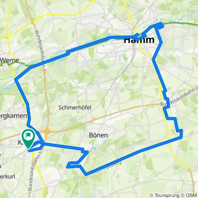 Ruhrgebiet - Bahntrassen Radweg