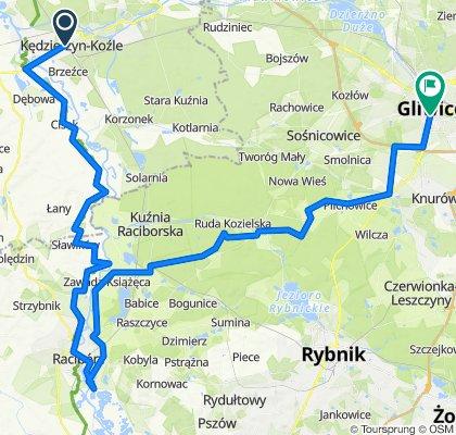 Kędzierzyn-Koźle do Kochanowskiego 25, Gliwice