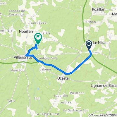 De 3 À la Gare, Le Nizan à 42 Route de Targos, Noaillan