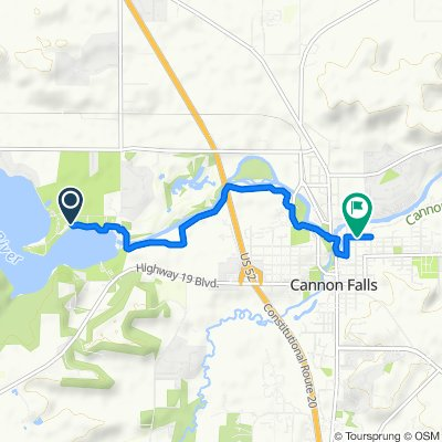 7650 Echo Pt, Cannon Falls to 515 Second St N, Cannon Falls