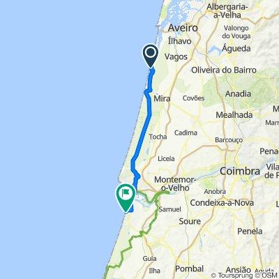 ETAPA 5 PORTUGAL Aveiro-Lavos