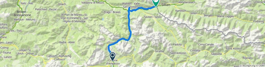 26/08/2020 Cortina  Prato alla Drava