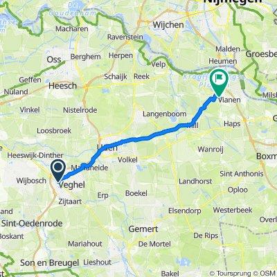 Ncb-Laan 123, Veghel naar Blauwe Steen 3, Beers