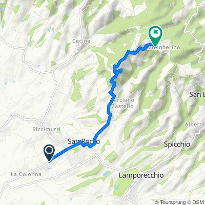 Da Via Gramsci 1041, San Rocco a Via Santa Lucia, Larciano