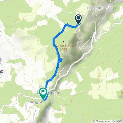 Percorso per Via Provinciale Sud 46–48, Palagano