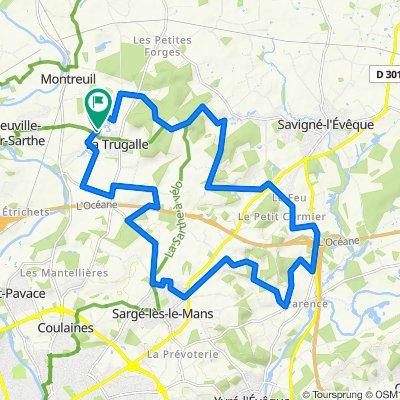 De Route de l'Acone 26, Neuville-sur-Sarthe à Route de l'Acone 26, Neuville-sur-Sarthe