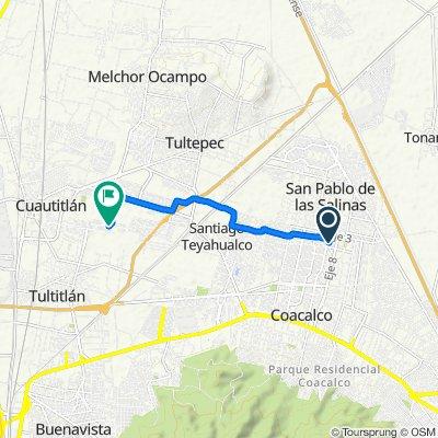 De Boulevard De Las Flores 635, San Francisco Coacalco a Grande 33a, Cuautitlán