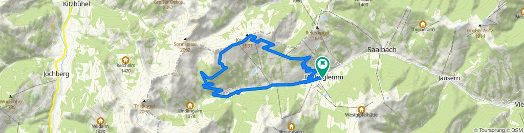 SH 40 Hochalm - Trail - Runde