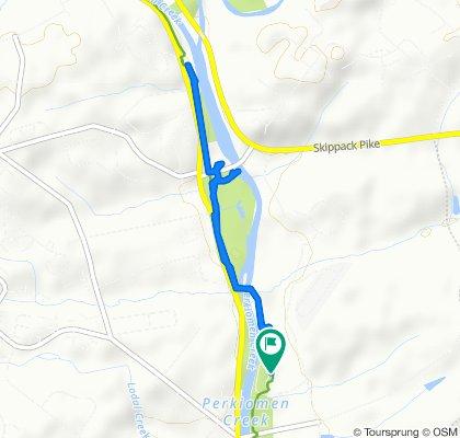 4680 Perkiomen Creek Rd, Schwenksville to 4680 Perkiomen Creek Rd, Schwenksville