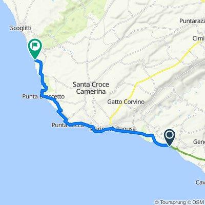 Da Viale della Repubblica 521, Donnalucata a Traversa 9 9, Passo Marinaro