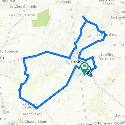 De Impasse des Peupliers, Irodouër à 14 Rue de Molène, Irodouër