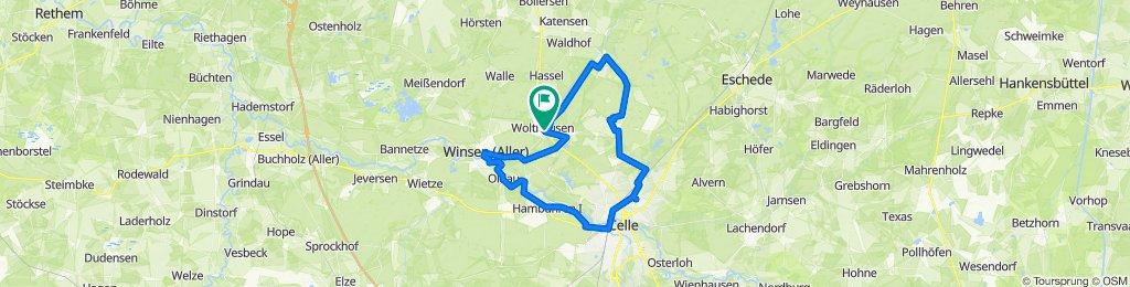 Landgasthof Wildwasser Wolthausen - Celle - Flüsse - Heide - Wald