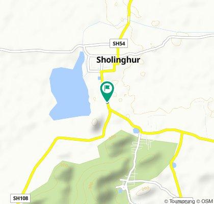 Sholinghur - Kaveripakkam Road to Sholinghur - Kaveripakkam Road