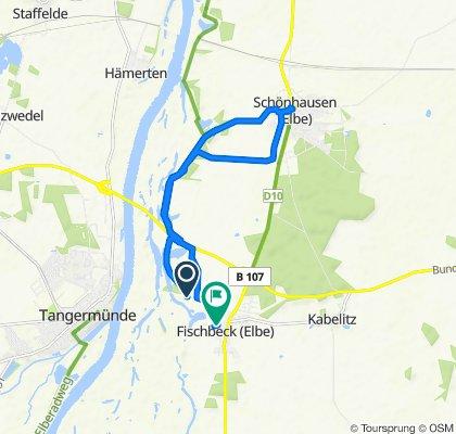 Route nach Fährstraße 5, Wust-Fischbeck