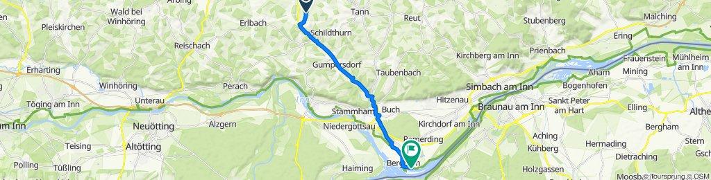 Stockwimm 56, Zeilarn nach Bergham, Kirchdorf am Inn