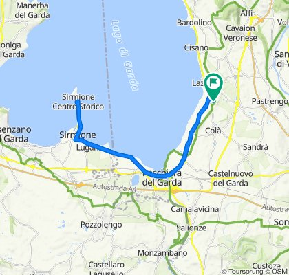 Via Gabbiola 64, Lazise nach Via Gabbiola 76, Lazise
