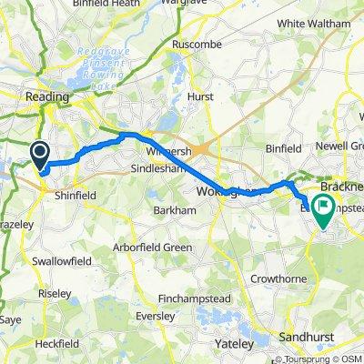 11 Worton Drive, Reading to 34 Bucklebury, Bracknell